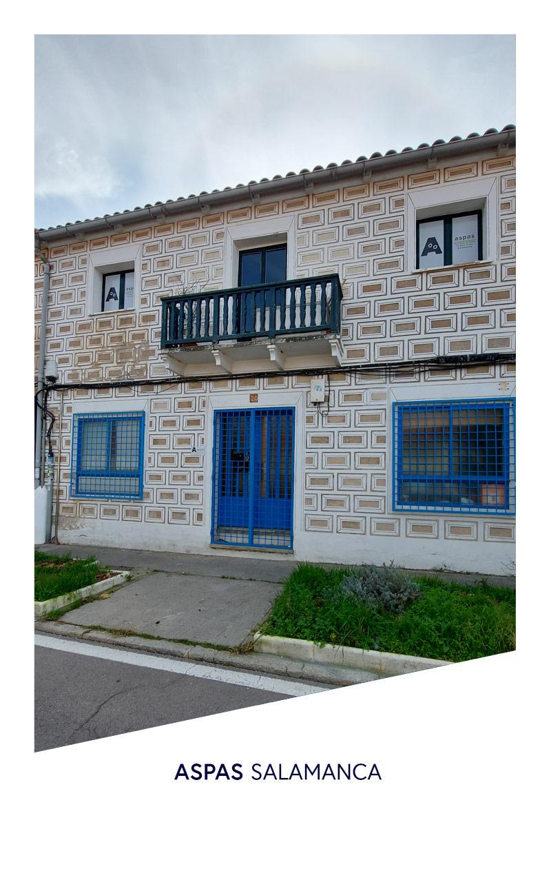 fachada Aspas Salamanca